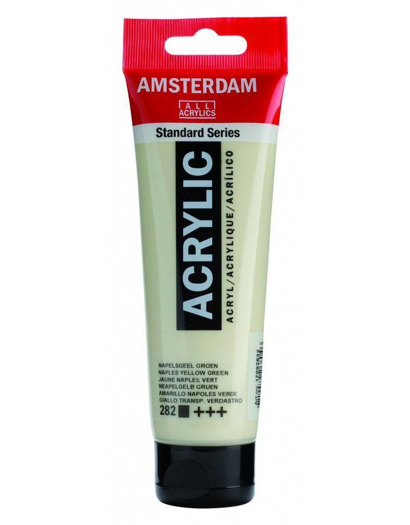 Talens Amsterdam acrylverf Napelsgeel Groen