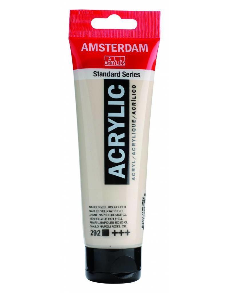 Talens Amsterdam acrylverf Napelsgeel Rood Licht