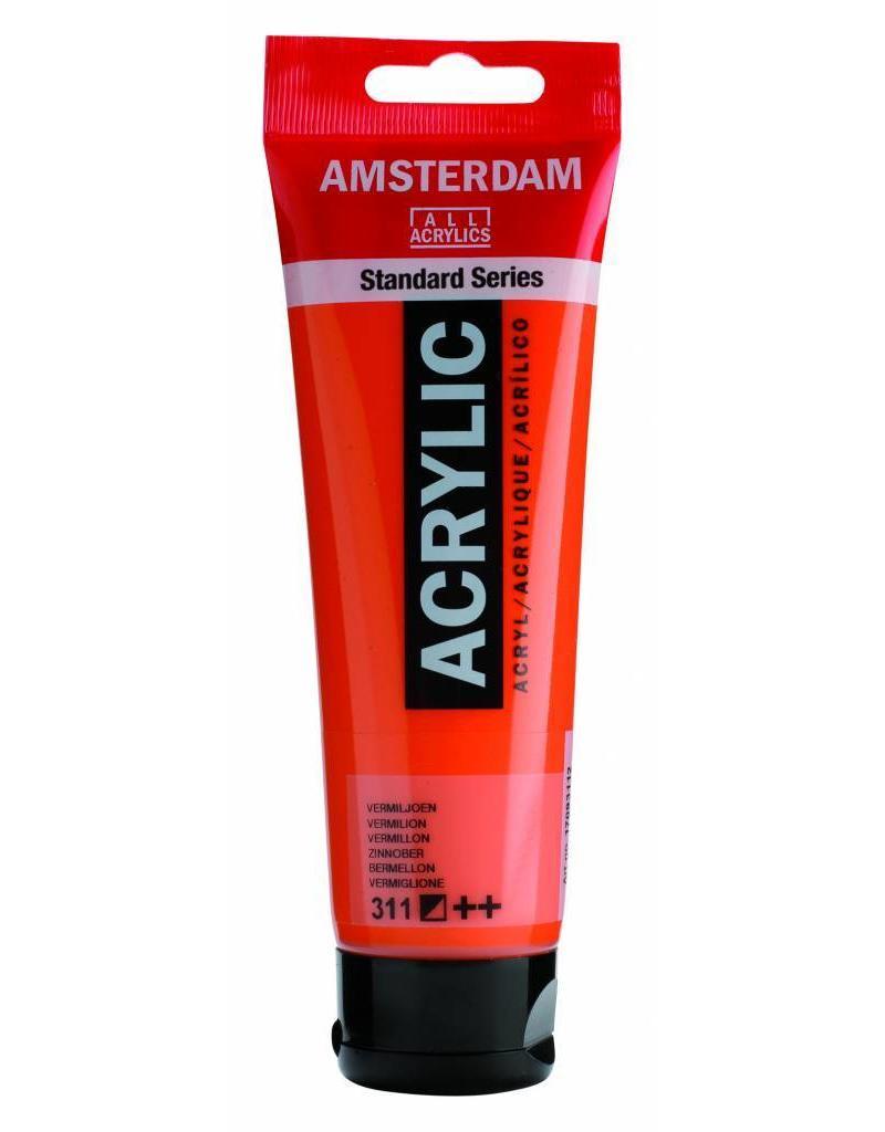 Talens Amsterdam acrylverf Vermiljoen