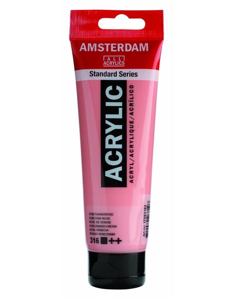Talens Amsterdam acrylverf Venetiaansrose