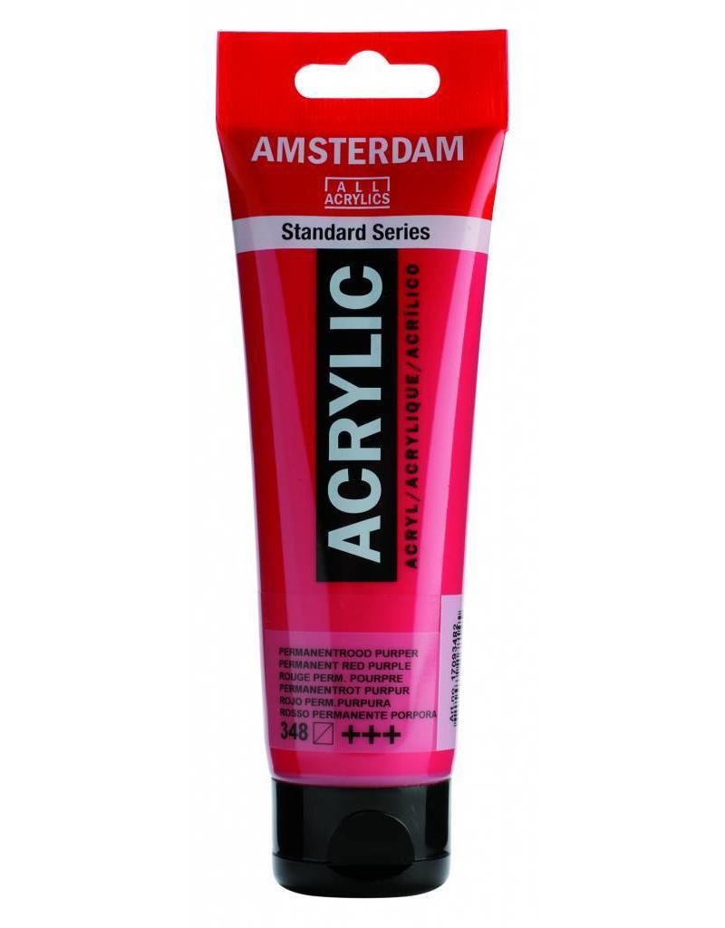 Talens Amsterdam acrylverf Permanent Rood Purper