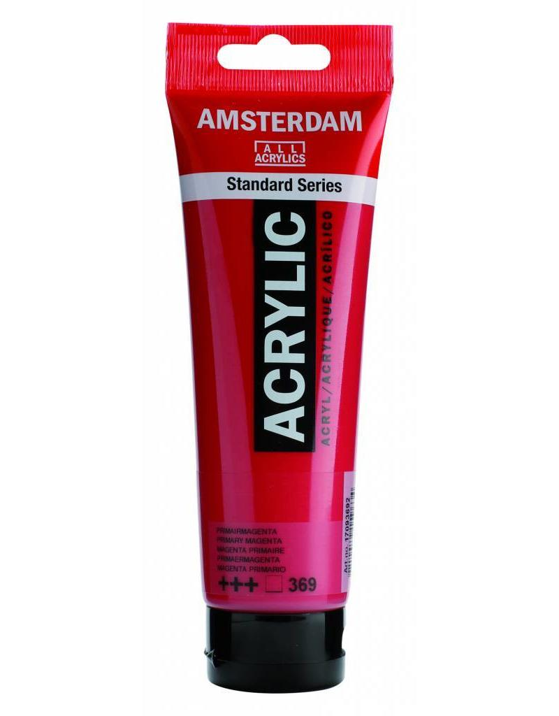 Talens Amsterdam acrylverf Primairmagenta