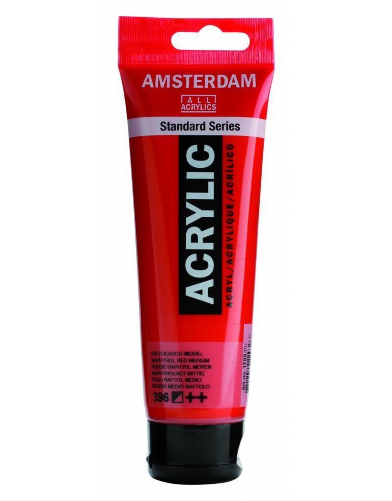 Talens Amsterdam acrylverf Naftolrood Middel