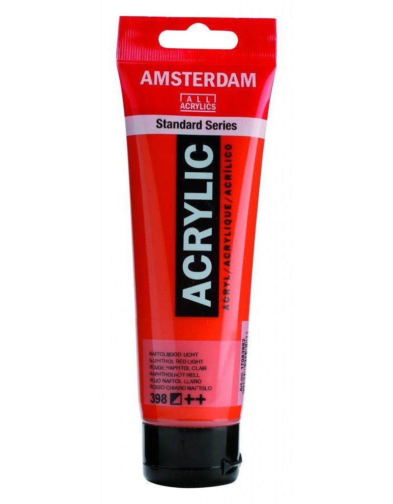 Talens Amsterdam acrylverf Naftolrood Licht