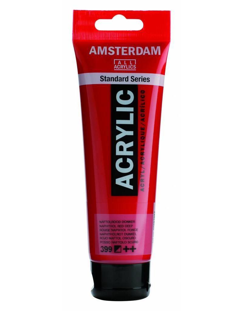 Talens Amsterdam acrylverf Naftolrood Donker