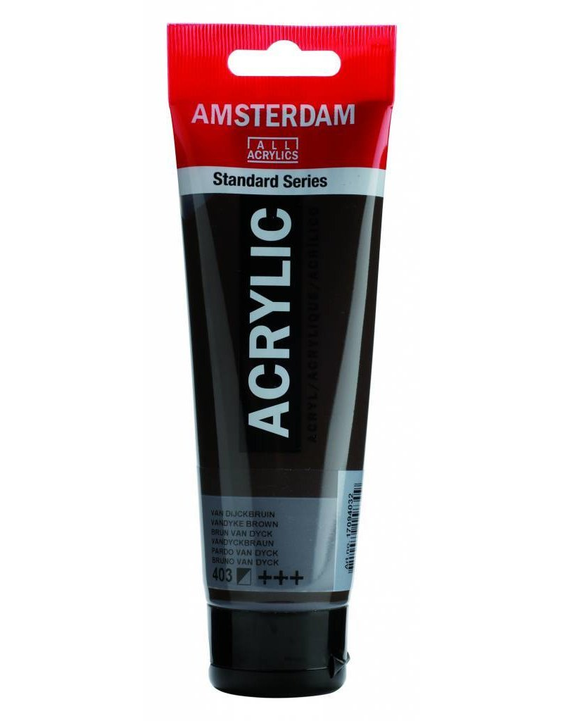 Talens Amsterdam acrylverf Van Dijckbruin