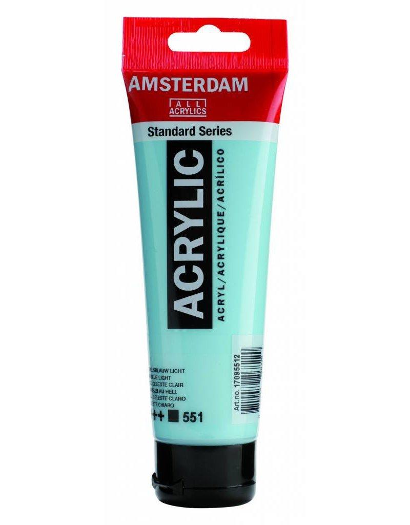 Talens Amsterdam acrylverf Hemelsblauw Licht