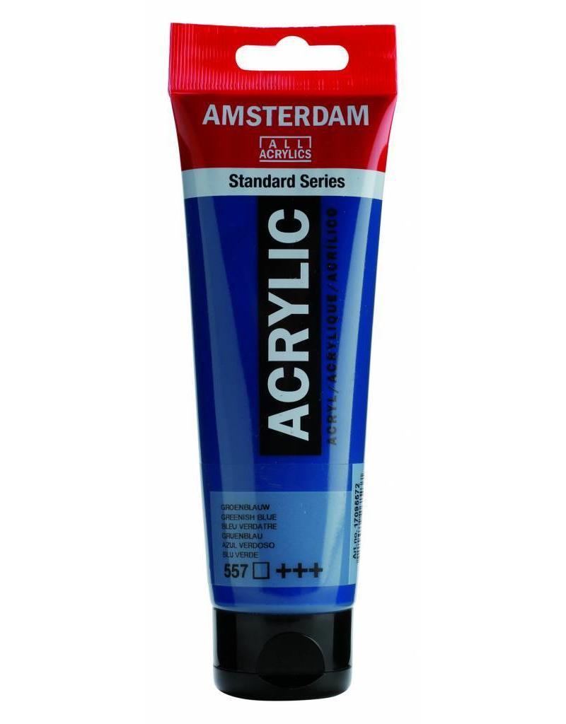 Talens Amsterdam acrylverf Groenblauw