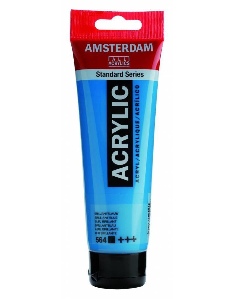 Talens Amsterdam acrylverf Briljantblauw