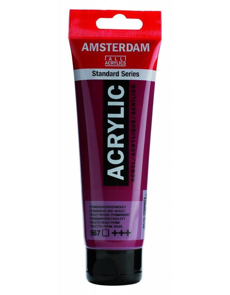 Talens Amsterdam acrylverf Permanent Rood Violet