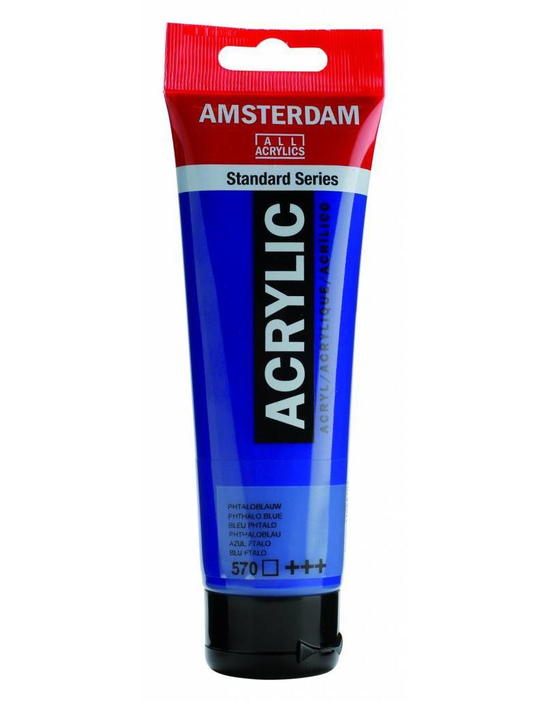 Talens Amsterdam acrylverf Phtaloblauw