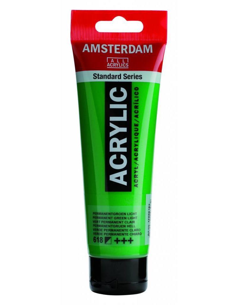 Talens Amsterdam acrylverf Permanent Groen Licht