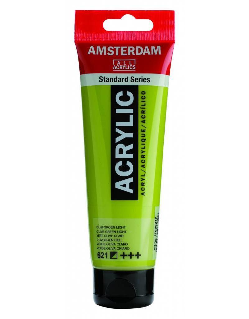 Talens Amsterdam acrylverf Olijfgroen Licht