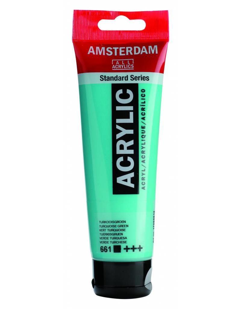 Talens Amsterdam acrylverf Turkooisgroen