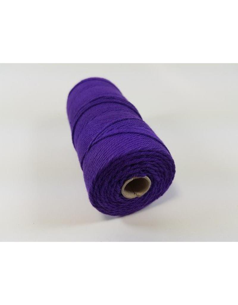 Macramé touw paars