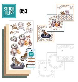 Stitch and Do borduurset huisdieren