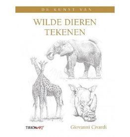 Tirion Boek Wilde dieren tekenen