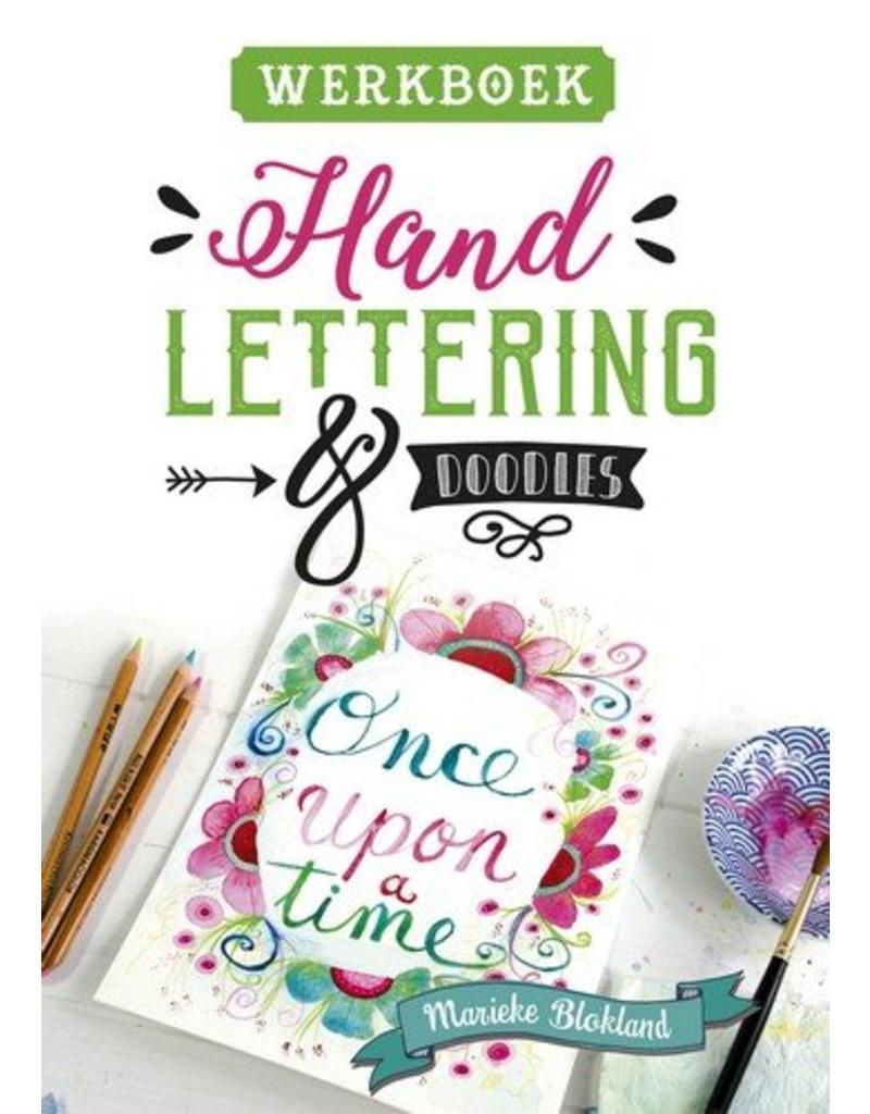 Kosmos Boek Handlettering & doodles werkboek