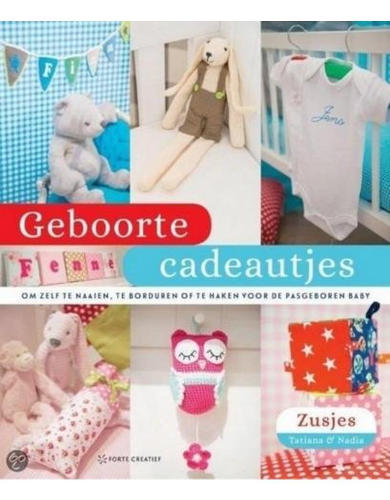 Forte Boek Geboorte cadeautjes
