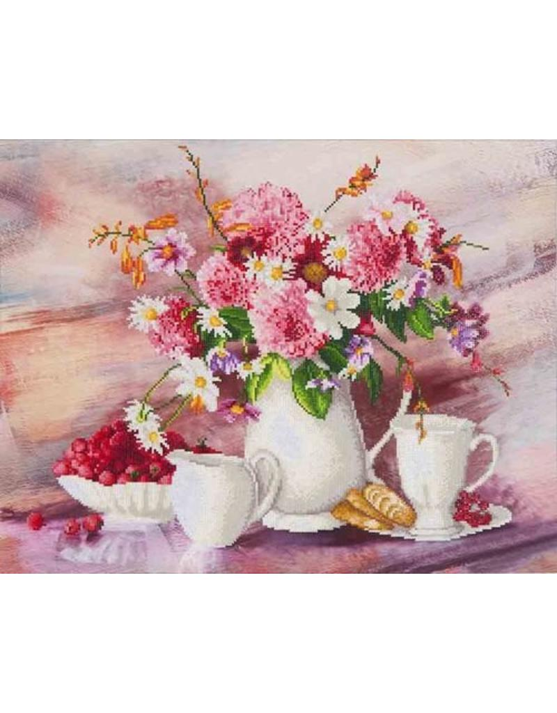 Diamond Dotz Diamond  Painting pakket Romantic Tea Time