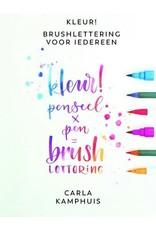 Kosmos Boek Brushlettering voor iedereen