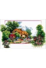 Needleart World Borduurpakket English Cottage Lane