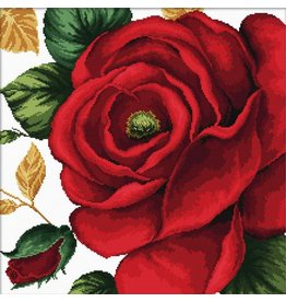 Needleart World Borduurpakket Rose