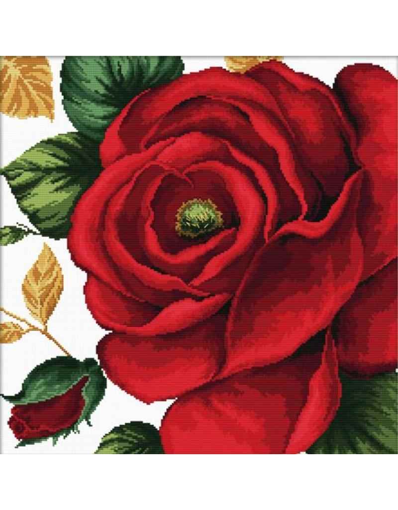 Needleart World Borduurpakket Rose