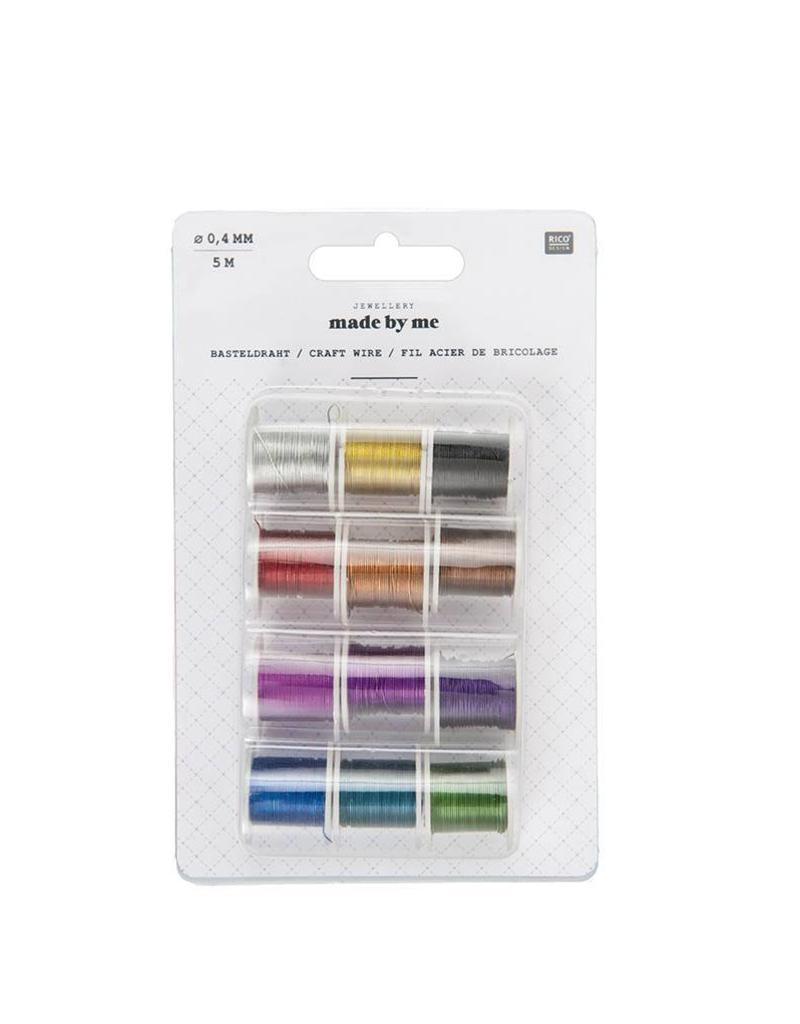 Rico Metaaldraad mix kleuren