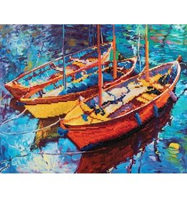 Diamond Dotz Diamond Painting pakket Dream Boats
