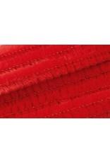 Rico Chenilledraad rood