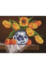 Diamond Dotz Diamond Painting pakket Yellow Tulips