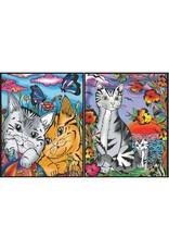 Painting Velvet Colorvelvet  kleurplaat opbergmap Cats