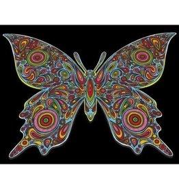 Painting Velvet Colorvelvet  kleurplaat Butterfly