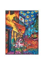 Painting Velvet Colorvelvet  kleurplaat VAN GOGH CAFE DE PARIS