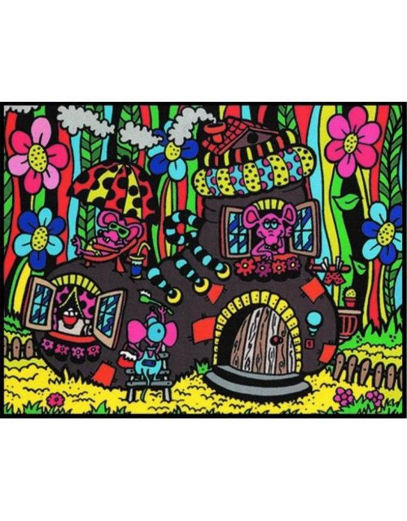 Painting Velvet Colorvelvet  kleurplaat SCARPONE