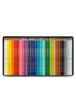 Caran d'Ache Aquarel kunstenaar kleurpotloden Supracolor Soft - set 40 stuks