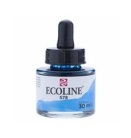 Talens Ecoline 30 ml - hemelsblauw cyaan