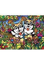 Painting Velvet Colorvelvet kleurplaat Husky