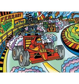Painting Velvet Colorvelvet kleurplaat Formule 1