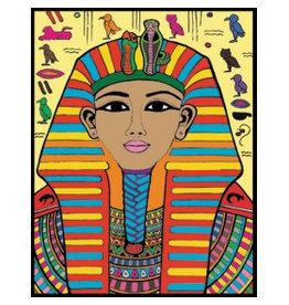 Painting Velvet Colorvelvet kleurplaat Egypte 4