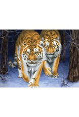 Needleart World Borduurpakket Stalking Tigers