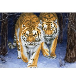 Needleart World Borduurpakket Stalking Tigers