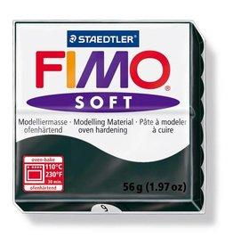 Staedtler Fimo klei soft 09-zwart