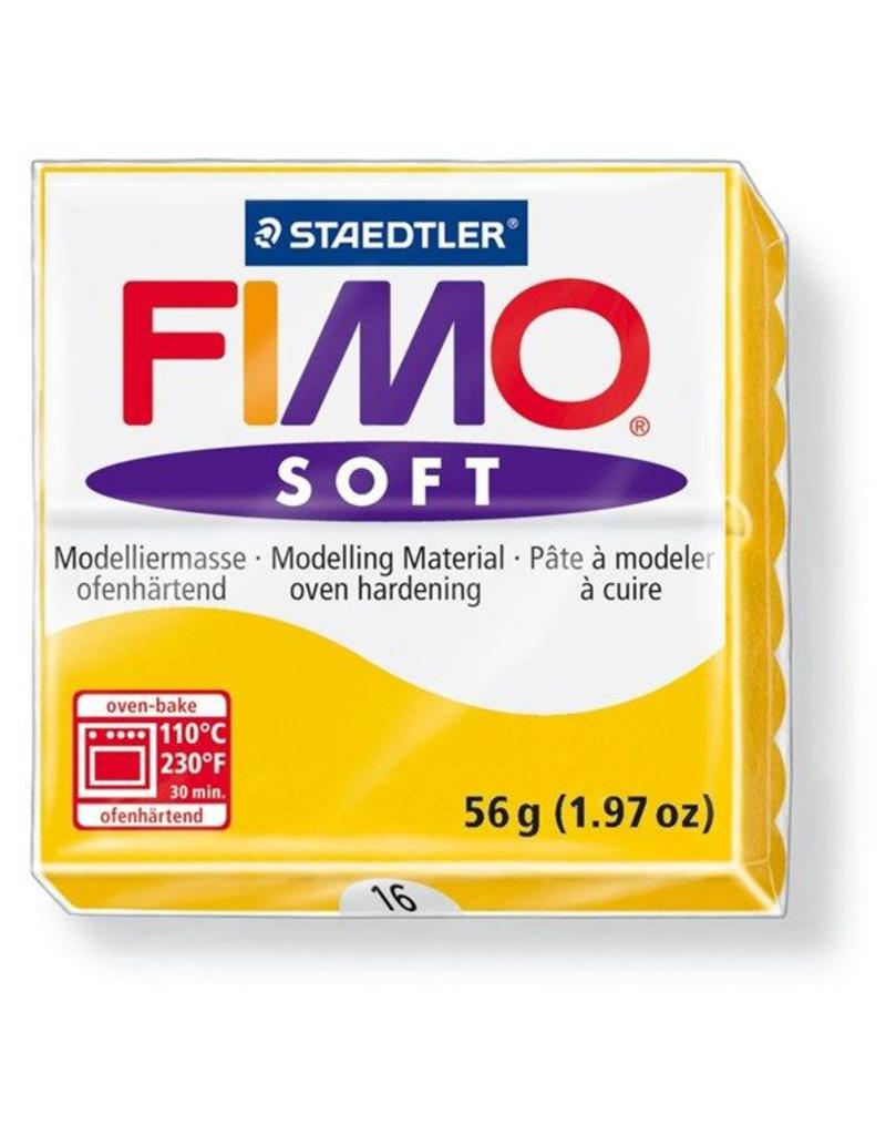 Staedtler Fimo klei soft 16-zonnegeel