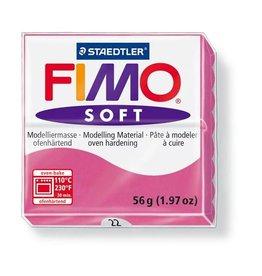 Staedtler Fimo klei soft 22-framboos