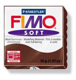 Staedtler Fimo klei soft 75 Choco