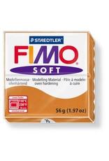 Staedtler Fimo klei soft - 76 cognac