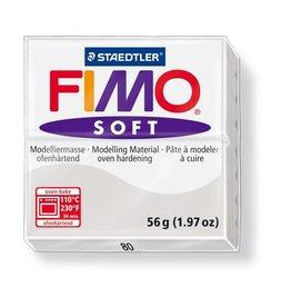 Staedtler Fimo klei soft 80-dolfijngrijs