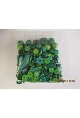 Houten kralen groen